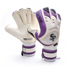 Glove  Soloporteros Pantera Gravity Protect White-Purple