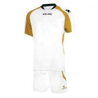 Goalkeeper set  Kelme Saba White-Golden
