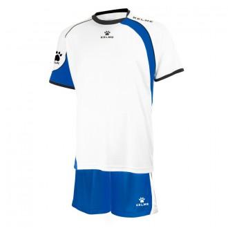 Goalkeeper set  Kelme Cartago White-Royal