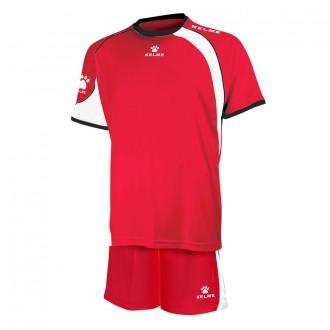 Goalkeeper set  Kelme Cartago Red-White
