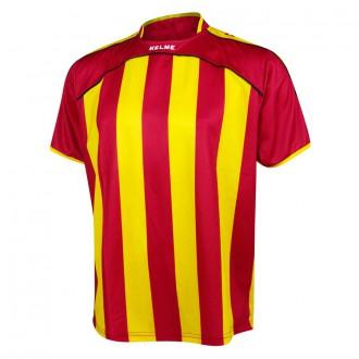 T-Shirt  Kelme Liga Red-Yellow
