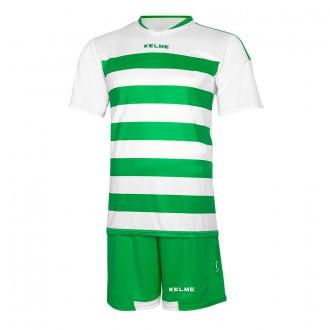 Conjunto  Kelme Glasgow Blanco-Verde