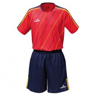Goalkeeper set  Mercury Mestalla Red