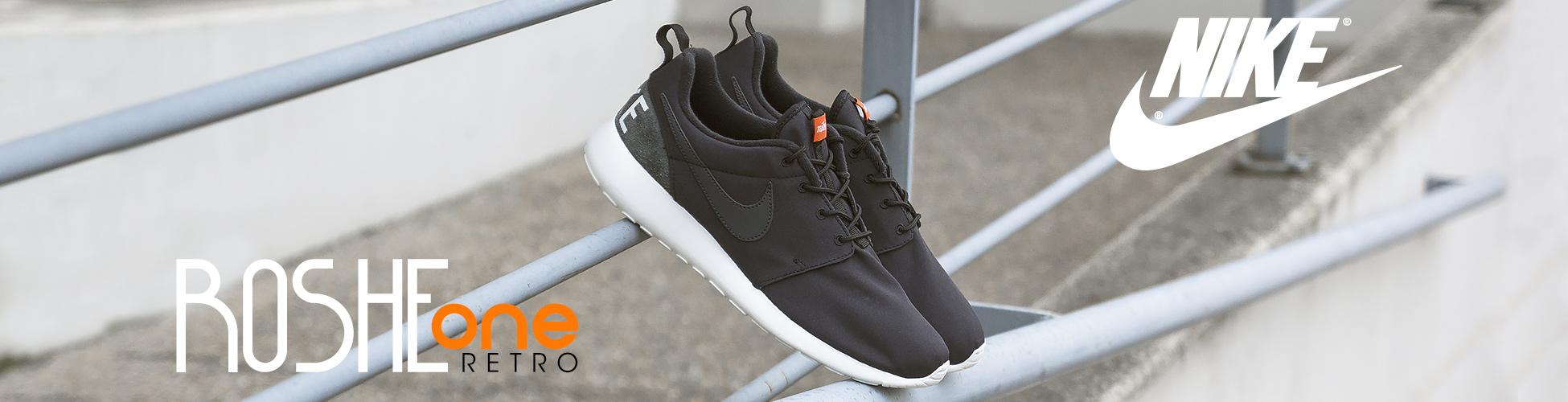 Nike Roshe One Retro Black-Anthracita