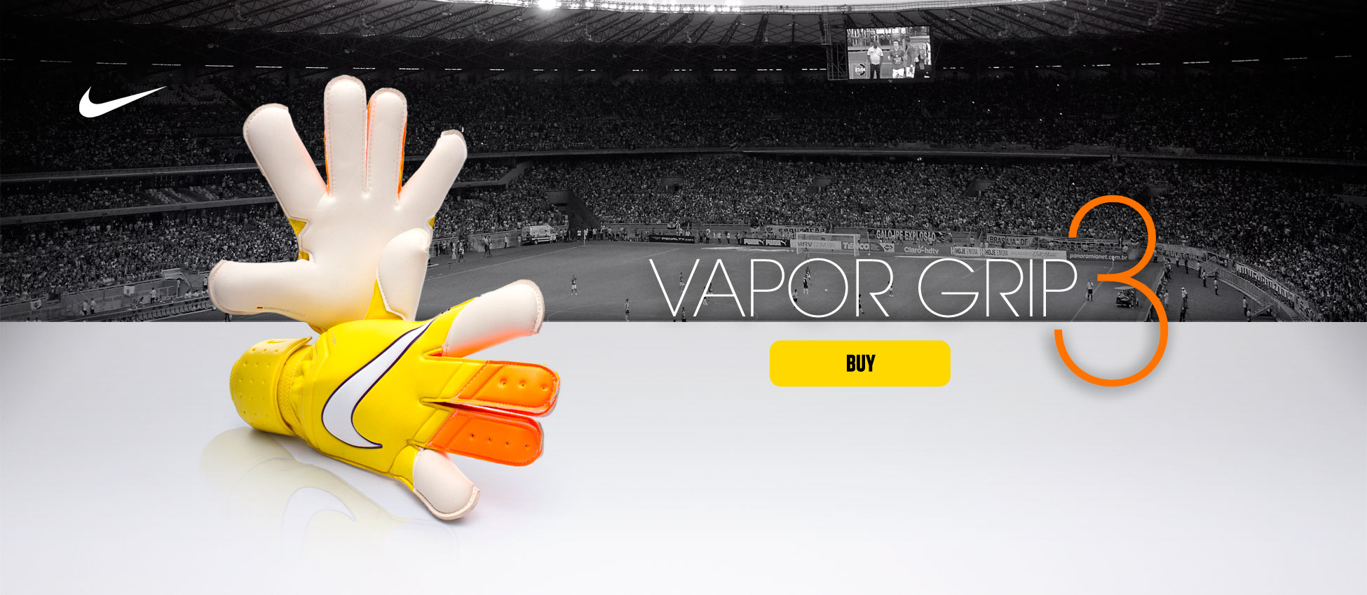 Vapor Grip 3 Gloves Yellow-Total orange