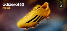 Bota Messi Gold