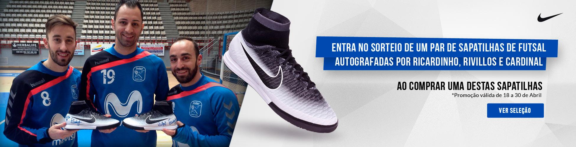 Sorteio um par sapatilhas Nike