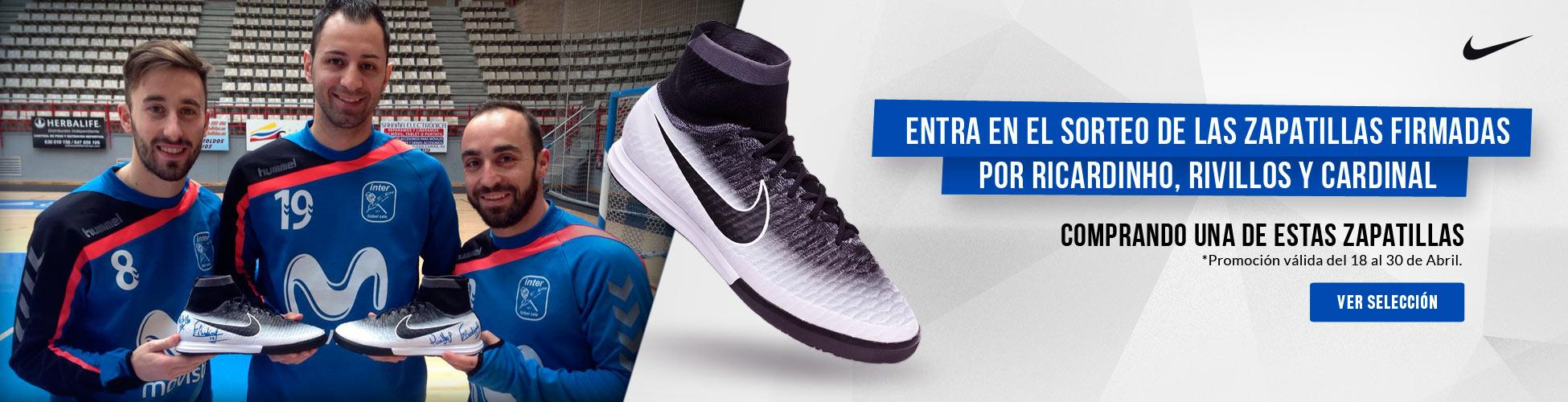 Sorteo Zapatillas Firmadas Nike