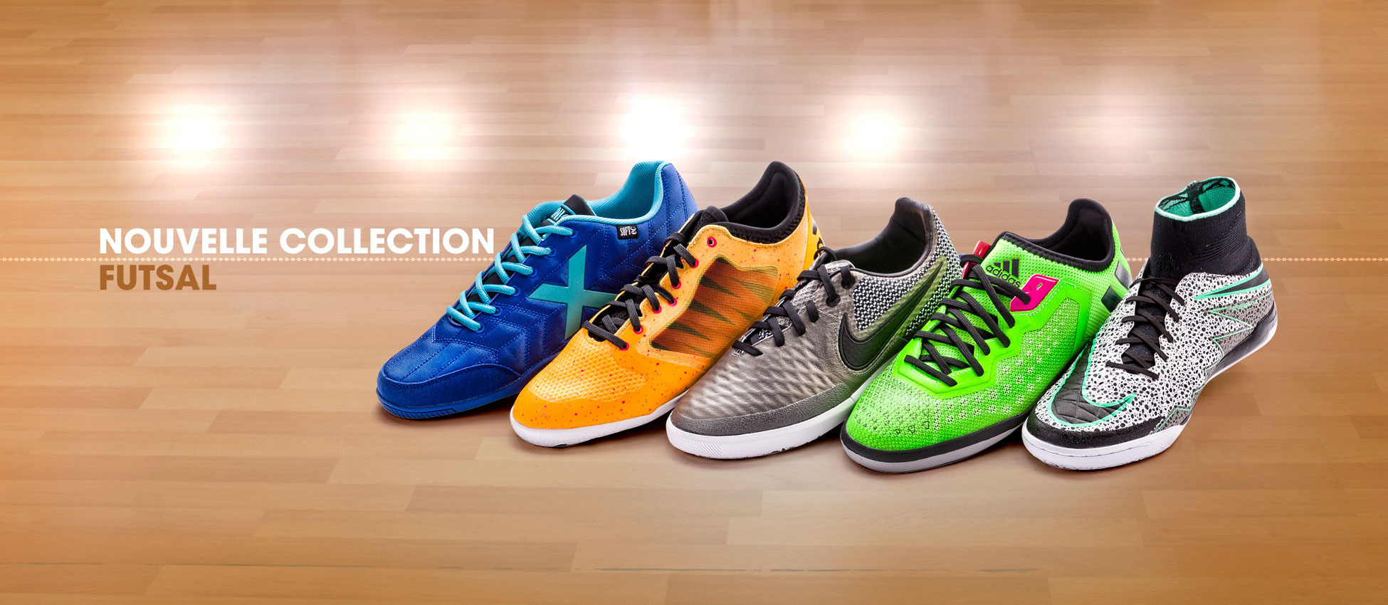 Nouvelle Collection Futsal 2016