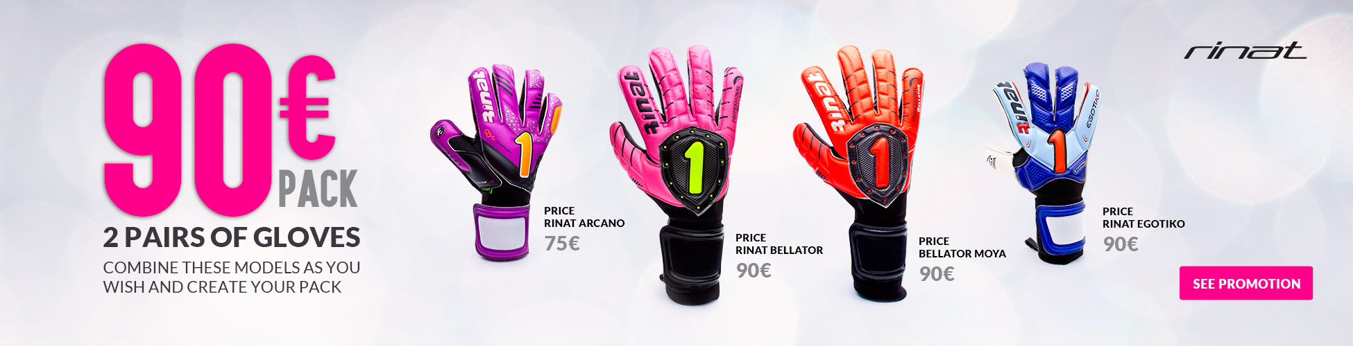 2 Pairs of gloves Rinat 90€