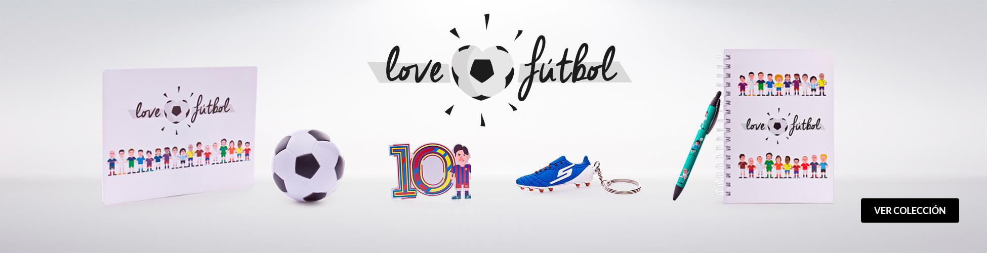 Merchantdising Love Futbol ES